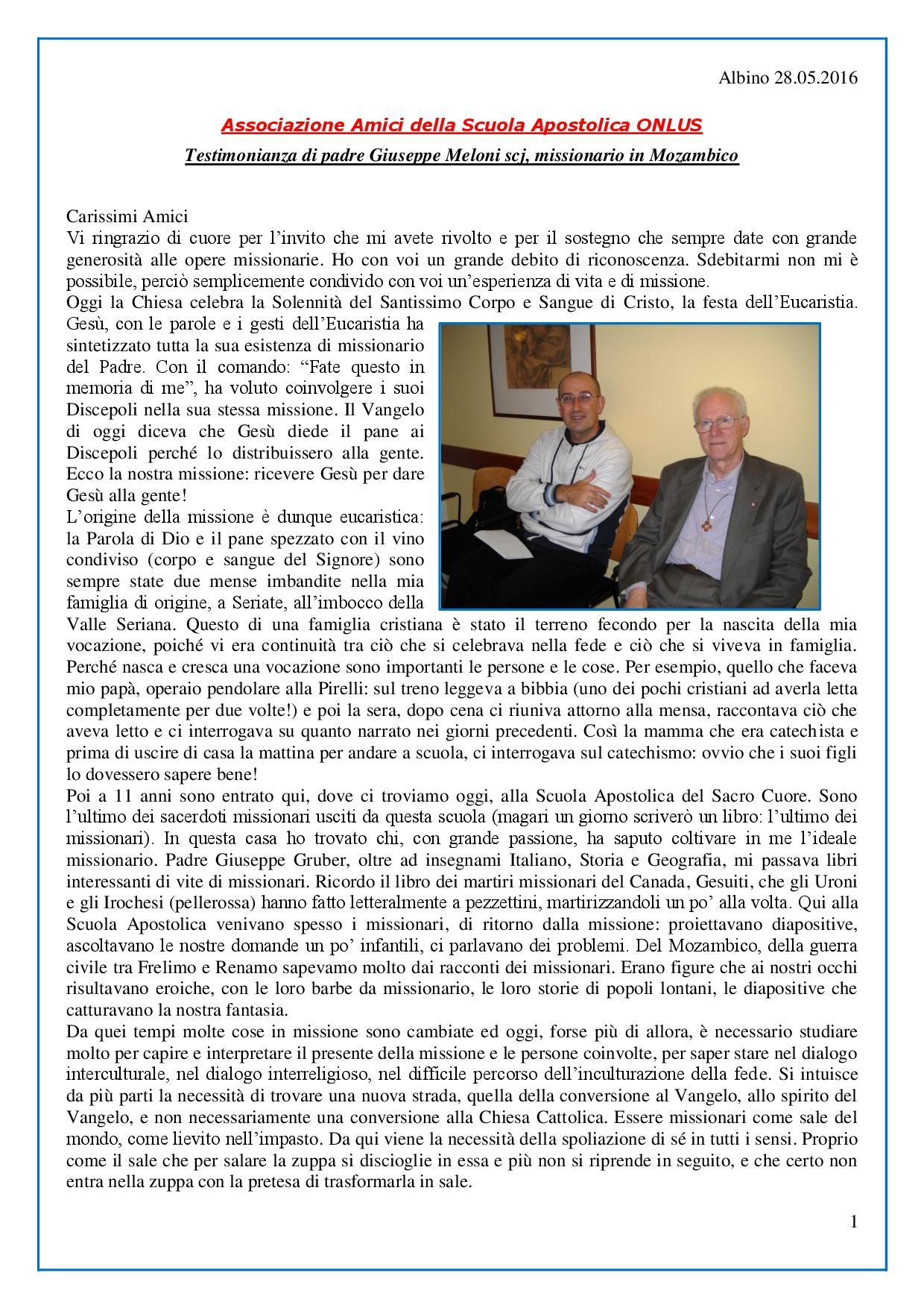 Albino 28 maggio 2016_Associazione Amici Scuola Apostolica_Testimonianza-001